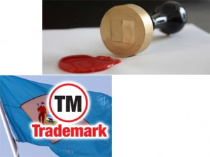Enregistrement d'une marque déposée